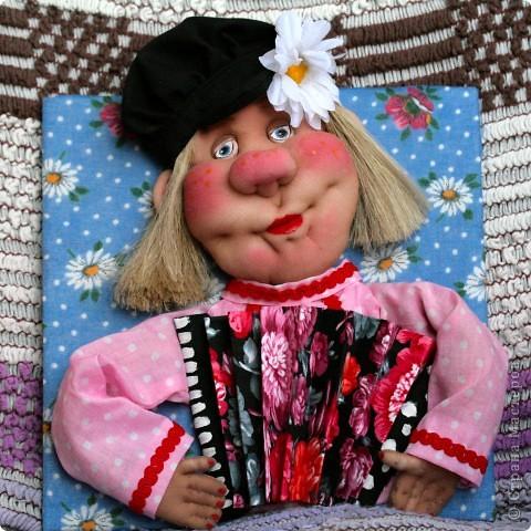 Кукла-грелка на самовар фото 17