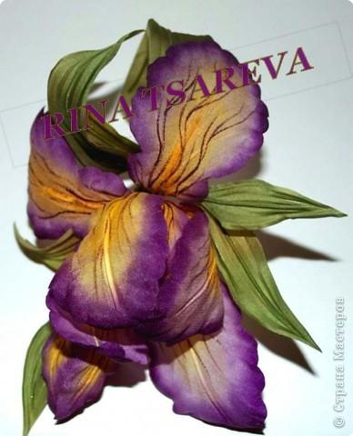 Шелковые цветы фото 6