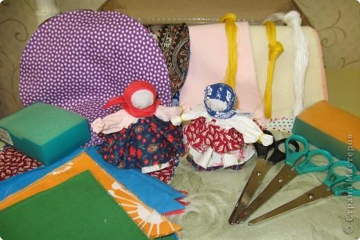"""Заготовки на 25 куколок-колокольчиков для мастер-класса, который проходил на детском городском празднике """" Пусть всегда будет солнце"""" в Химках. фото 1"""