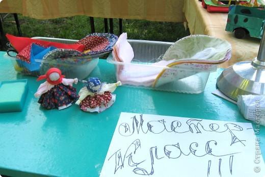"""Заготовки на 25 куколок-колокольчиков для мастер-класса, который проходил на детском городском празднике """" Пусть всегда будет солнце"""" в Химках. фото 3"""