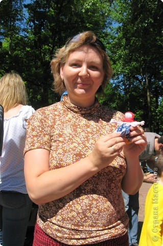 """Заготовки на 25 куколок-колокольчиков для мастер-класса, который проходил на детском городском празднике """" Пусть всегда будет солнце"""" в Химках. фото 5"""