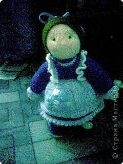 Спасибо Рите смогла заразить вирусом.Обещаные куклы, правда не все, фотоаппарат  так и не доехал, фото сделано телефоном извиняюсь за качество фото 4