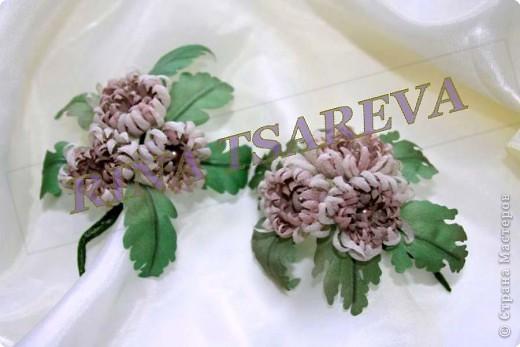 Шелковые цветы фото 8
