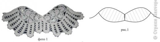 Ангелочек. Вам потребуется: вязальные нитки телесного, белого, желтого цветов; нитки для вышивания красного, черного, коричневого цветов; крючки № 2;2,5;3; вилка (шпилька), проволока для каркаса, клей ПВА, наполнитель для набивки.  фото 6