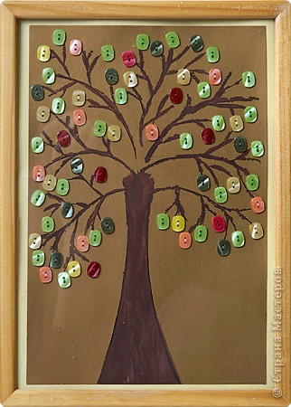 Дерево для поделки на а 4