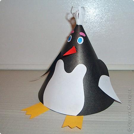 Пингвин сделать своими руками