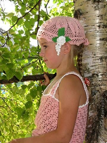 Вязание крючком: Летний комплект