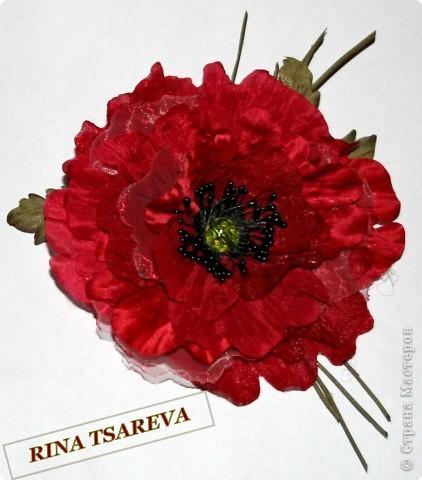 Шелковые цветы фото 12