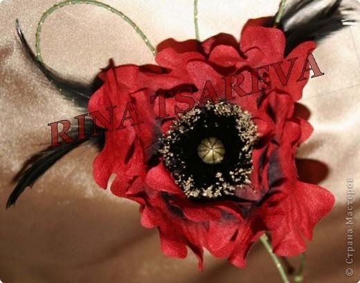 Шелковые цветы фото 13