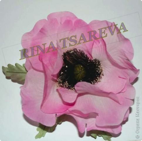 Шелковые цветы фото 11