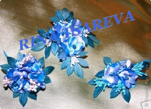 Шелковые цветы фото 14