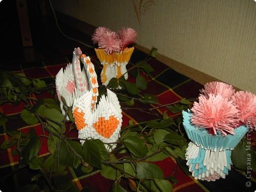 Оригами модульное: Сладкая парочка фото 3