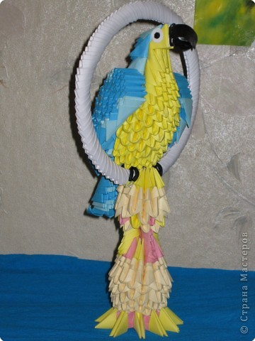 попугай Бумага фото 2