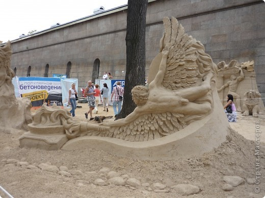 Международный фестиваль на пляже Петропавловской крепости в Санкт-Петербурге. 2009 год фото 4