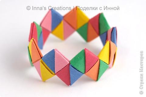 Плетение: Оригами-браслет
