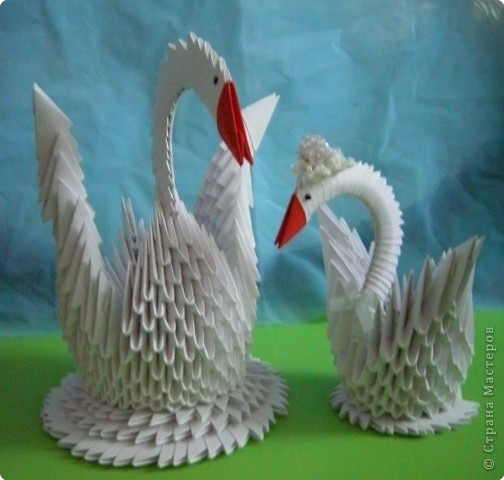 Оригами модульное: Двое