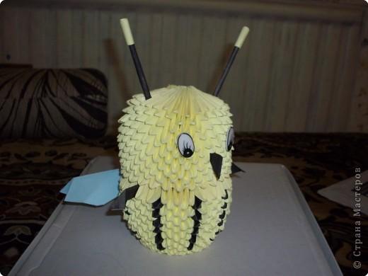 Оригами модульное: Пчелка фото 2