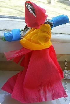 Моделирование: Куклы из мятой бумаги. фото 2