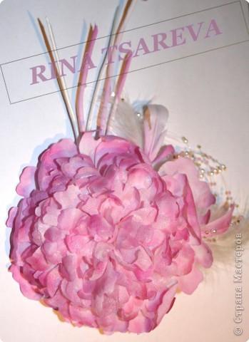 Шелковые цветы фото 17