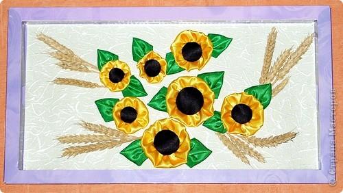 Цветы из ленты фото 2