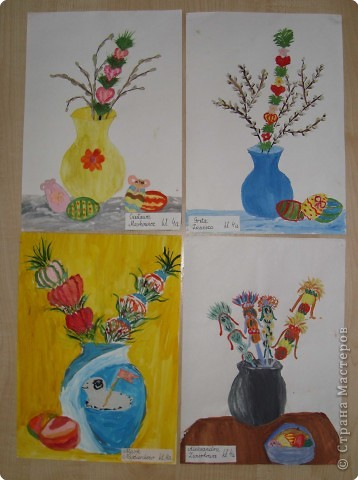 Рисование и живопись: Пасхальный натюрморт