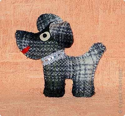 Шитьё: Собачка Тобик