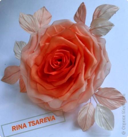 Шелковые цветы фото 34