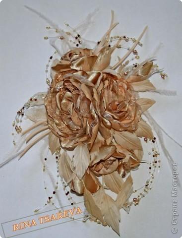 Шелковые цветы фото 19