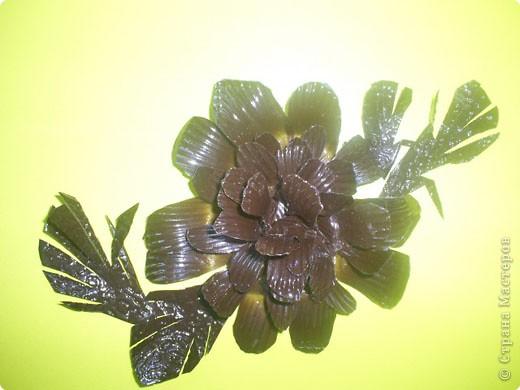"Моделирование: Цветок в технике ""цветка одуванчика"""