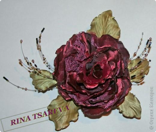 Шелковые цветы фото 26