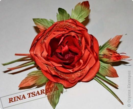 Шелковые цветы фото 27