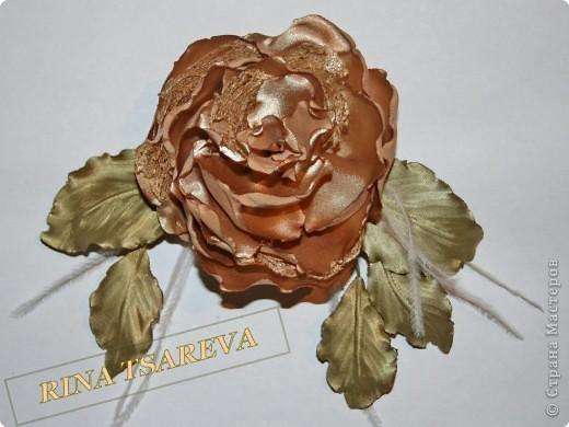 Шелковые цветы фото 28