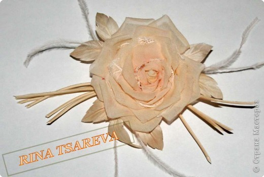 Шелковые цветы фото 29