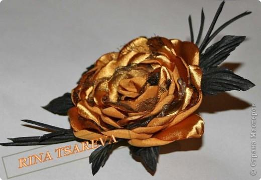 Шелковые цветы фото 30