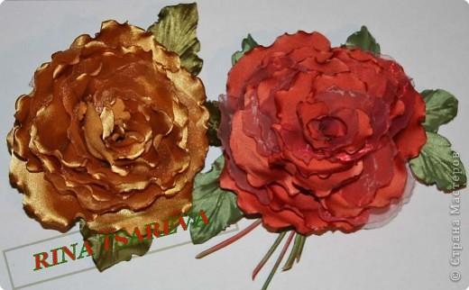 Шелковые цветы фото 31