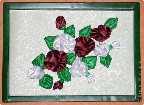 Цветы из ленты фото 3