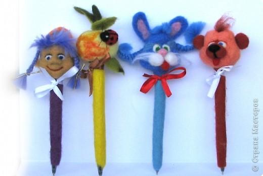 обвалены шариковые ручки фото 1