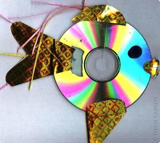 Поделка изделие Аппликация Моделирование конструирование Поделки из CD-дисков или всё ненужное в дело Диски компьютерные фото 1