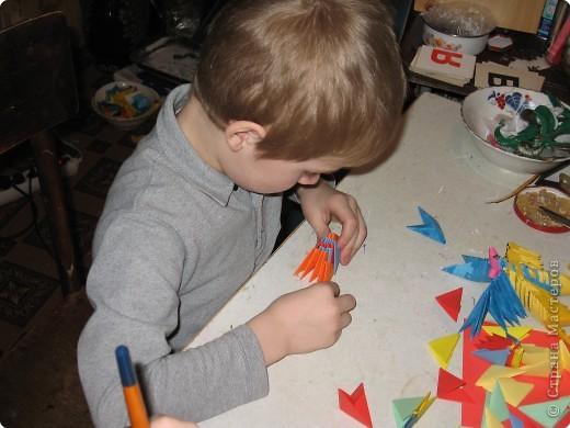 Оригами модульное:  Раннее развитие Первые шаги фото 2