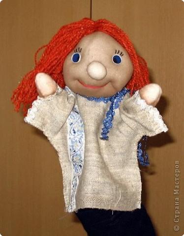 Сененко Серёжа. Перчаточная кукла