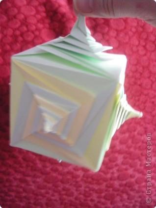 Кусудама: Спираль фото 1