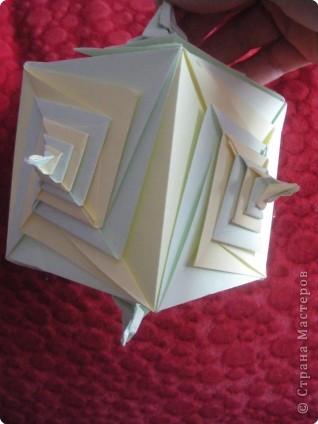Кусудама: Спиральная кусудама (схема) фото 1