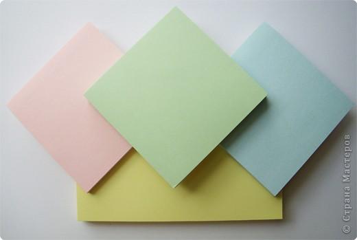 Оригами модульное: Маленький тортик фото 3