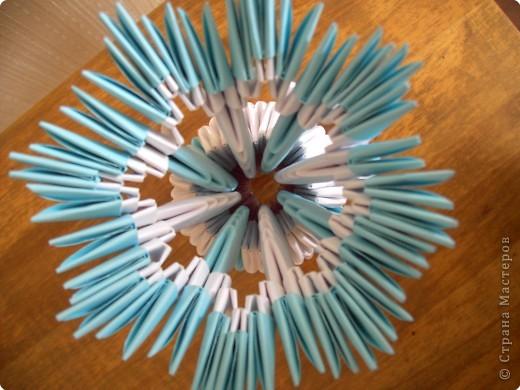 Оригами модульное: Вазочка фото 4