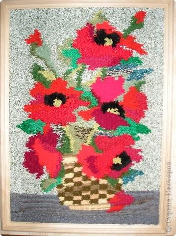 Ткачество ручное: Милым женщинам-цветы!