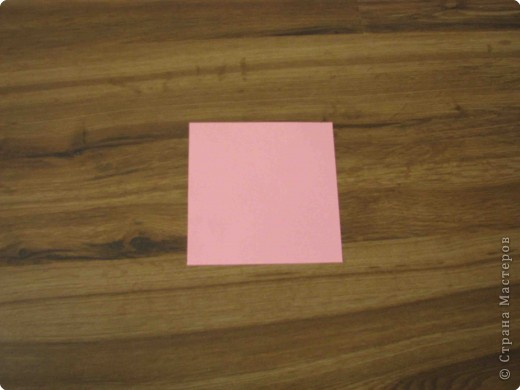 Я взяла квадрат размером 12см х 12см фото 1