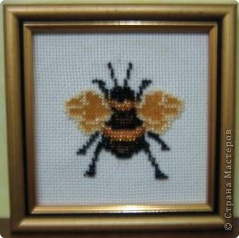 Вышивка: Пчёлка