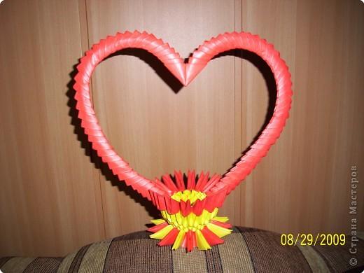 Оригами модульное: Свадебные лебёдушки))) фото 4