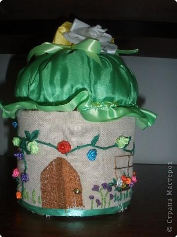 Этот домик сделала  моя ученица - Петрушова Юлиана. Вот, что получилось у нее. фото 3