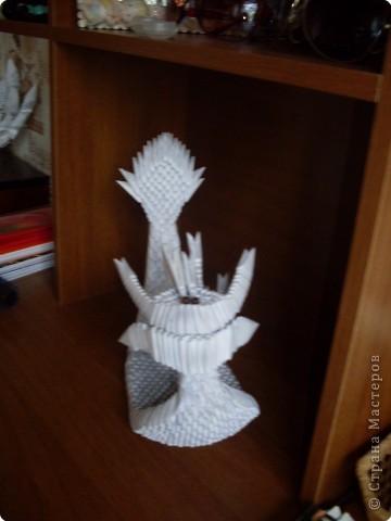 Оригами модульное: Лодка -Дракон фото 2